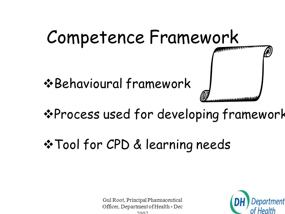 Competence Framework Behavioural framework