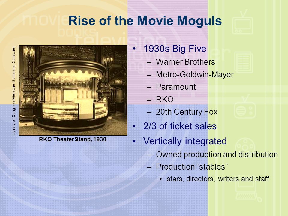 Rise of the Movie Moguls