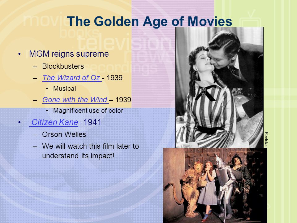 The Golden Age of Movies