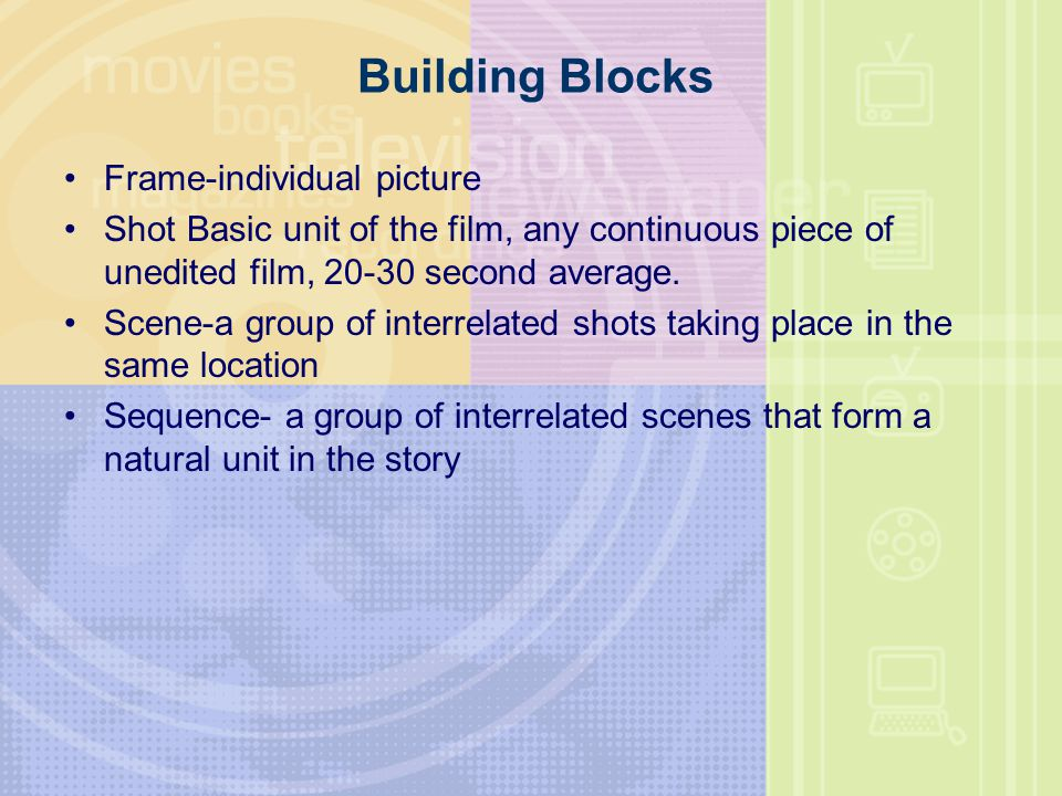 Building Blocks Frame-individual picture