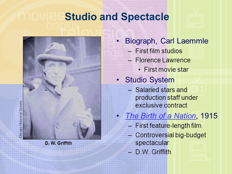 Studio and Spectacle Biograph, Carl Laemmle Studio System