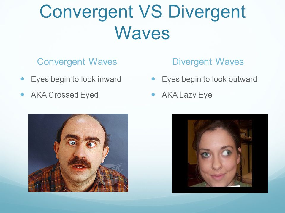 Convergent VS Divergent Waves