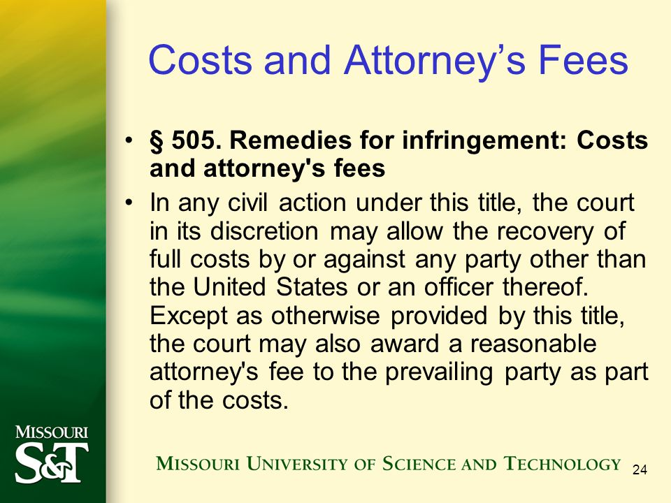 Costs and Attorney's Fees