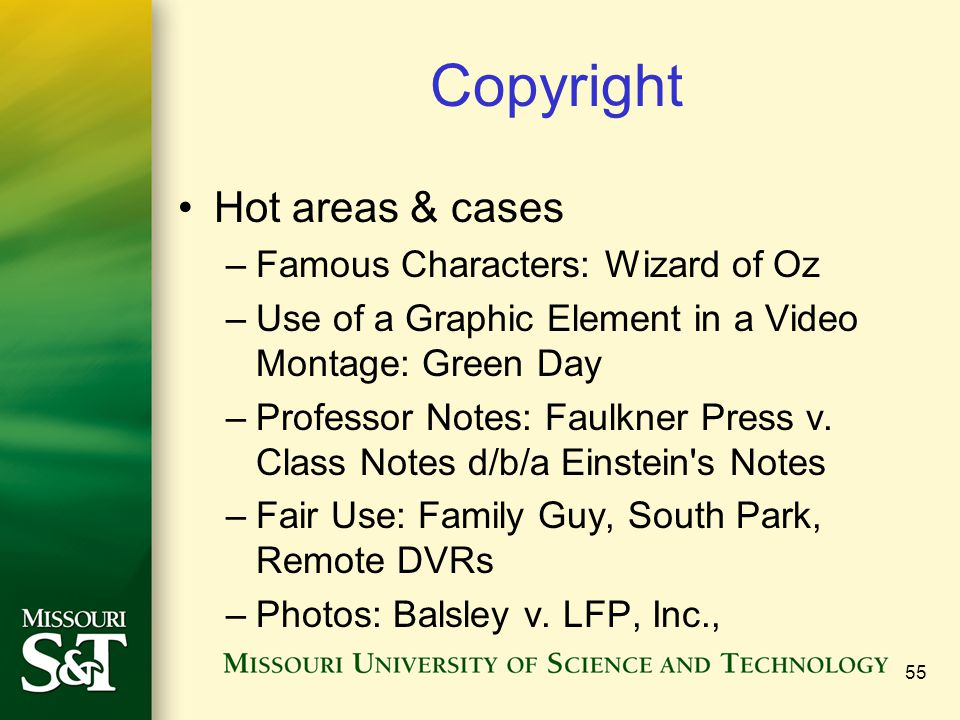 Copyright Hot areas & cases Famous Characters: Wizard of Oz
