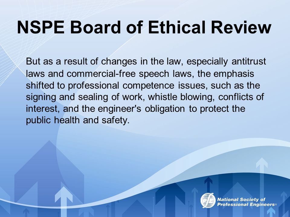 NSPE Board of Ethical Review