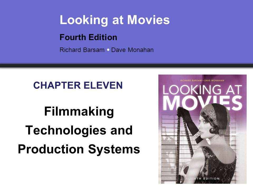 Filmmaking Technologies and Production Systems