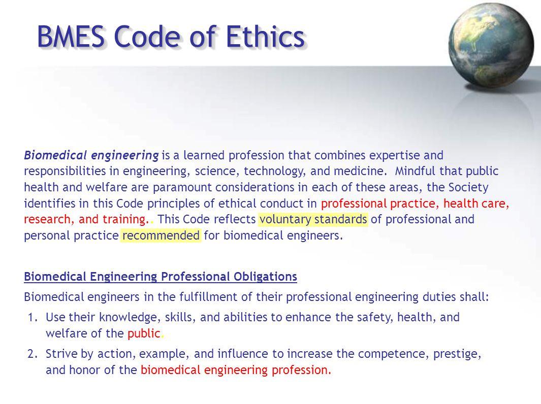 BMES Code of Ethics