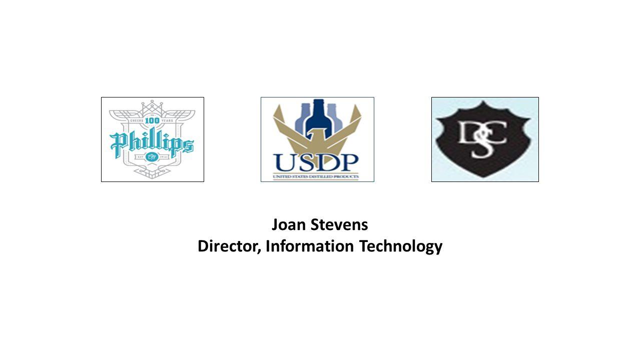 Joan Stevens Director, Information Technology