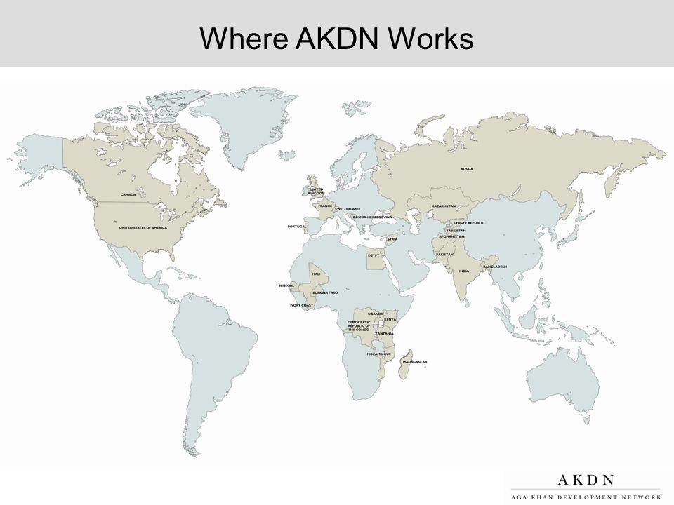 Where AKDN Works
