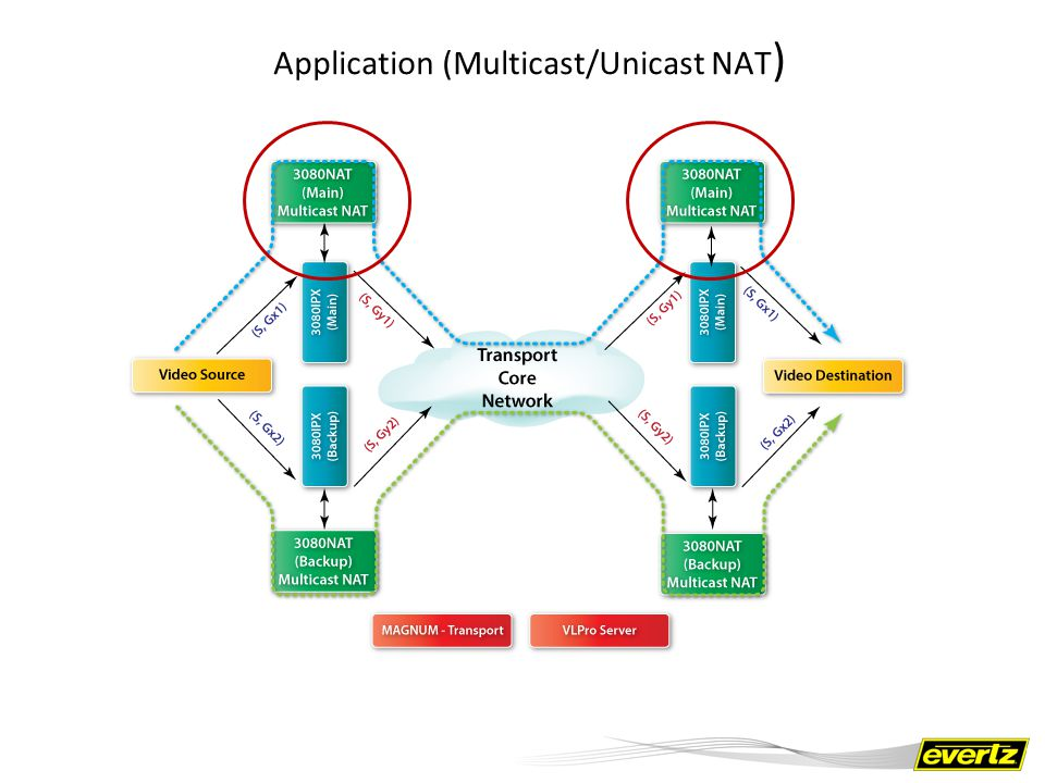 Application (Multicast/Unicast NAT)