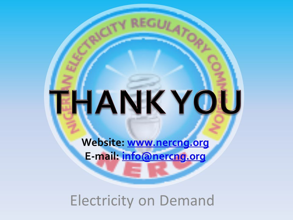 Website: www.nercng.org E-mail: info@nercng.org