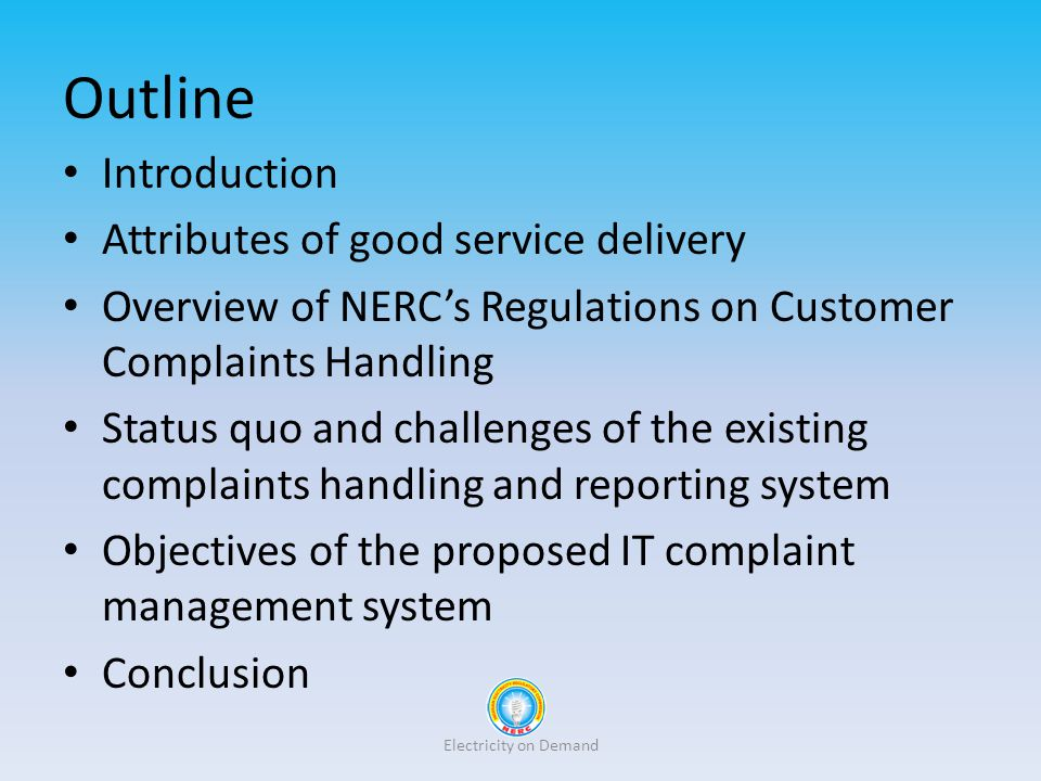 Outline Introduction Attributes of good service delivery