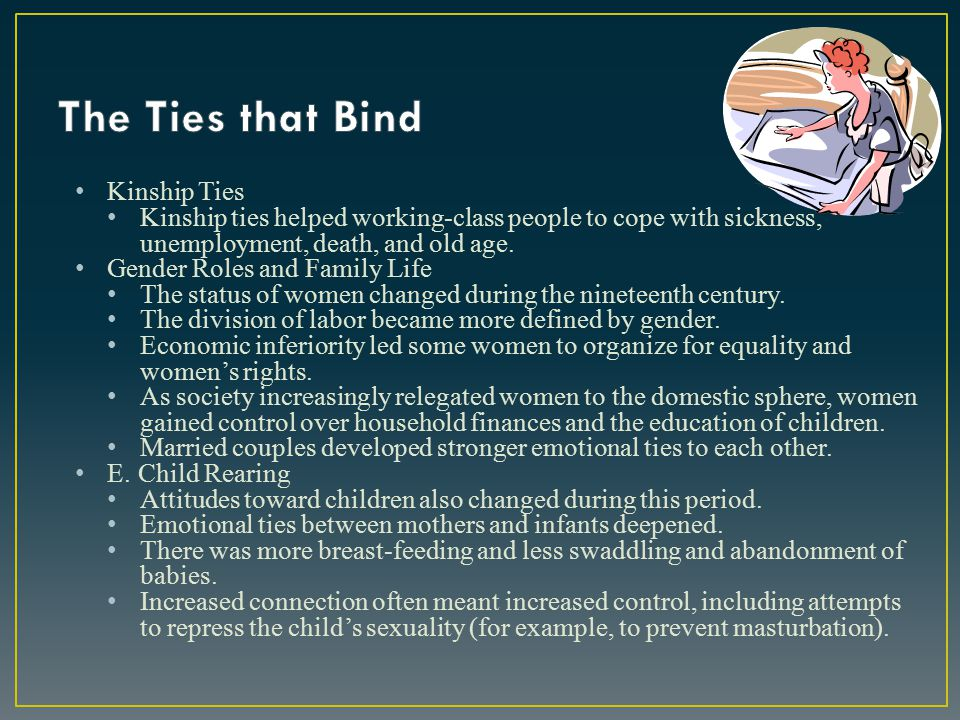 The Ties that Bind Kinship Ties