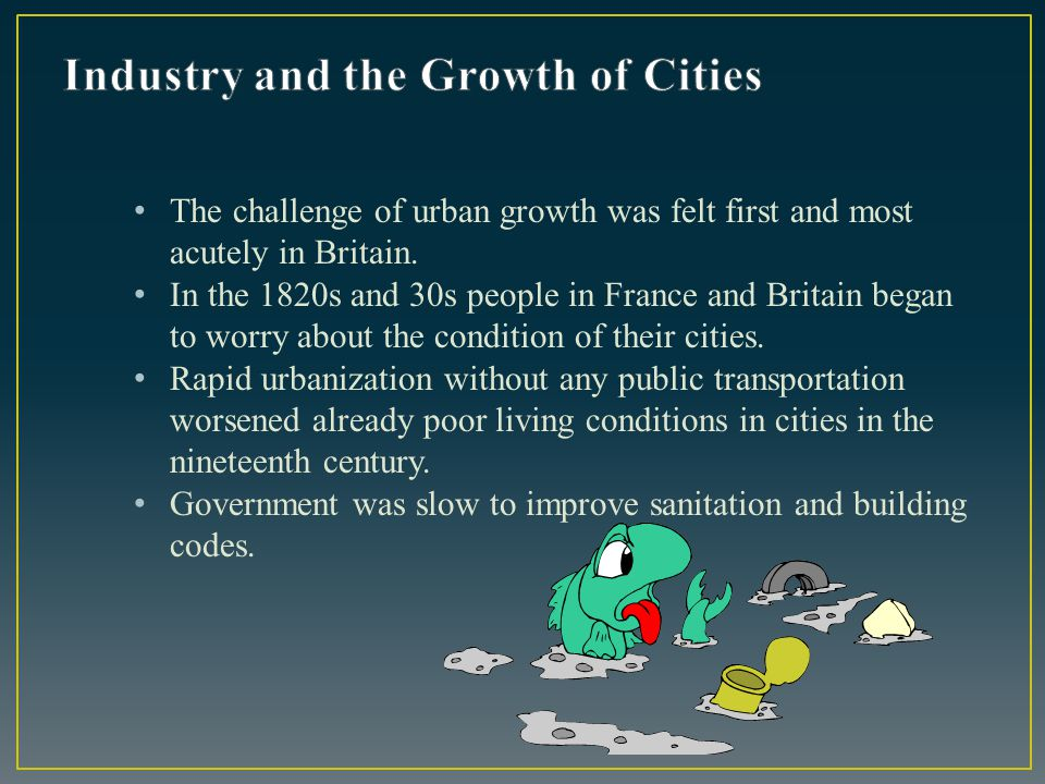 Industry and the Growth of Cities