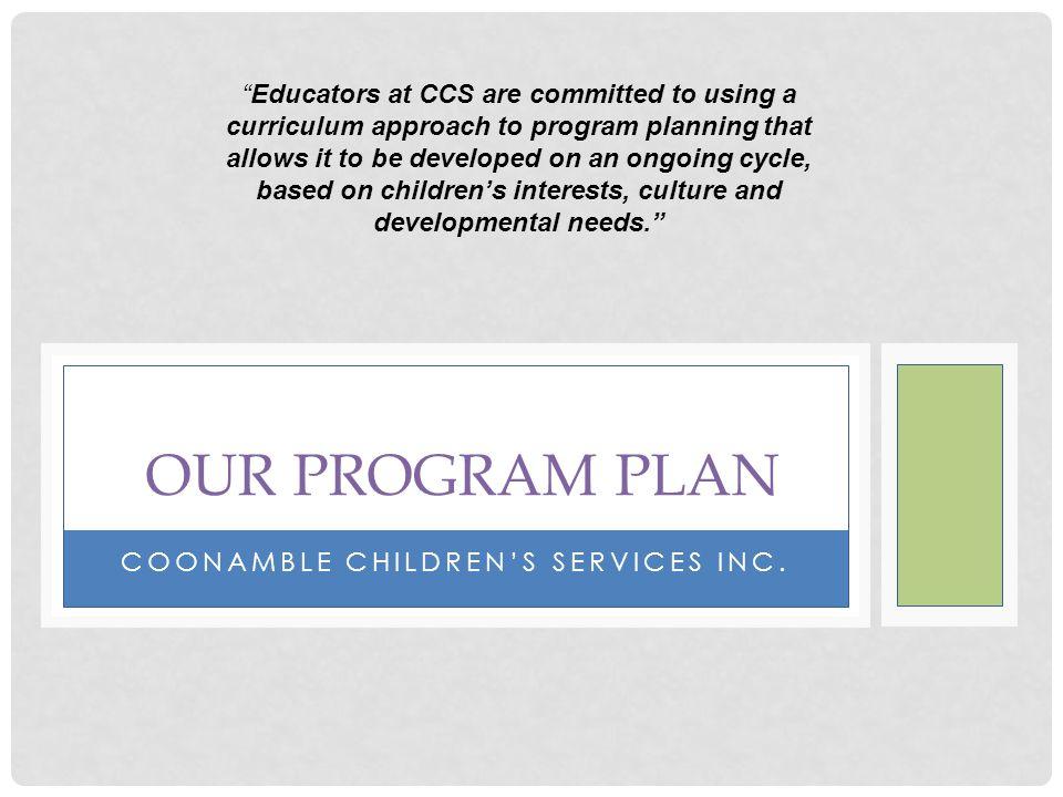 Coonamble children's services Inc.