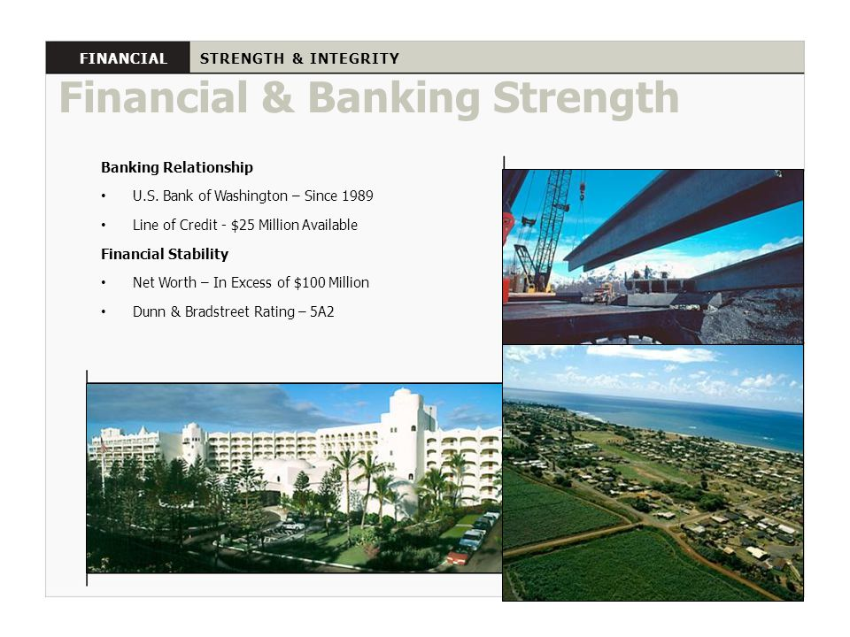 Financial & Banking Strength