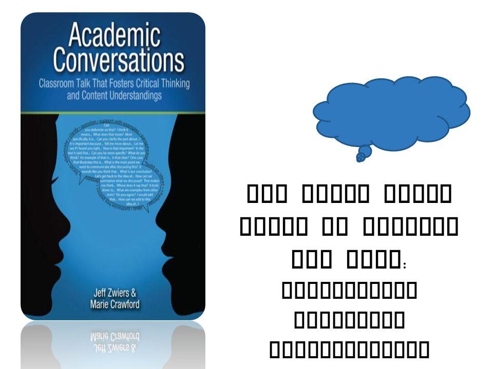 All Great Ideas Begin by Talking Out Loud: