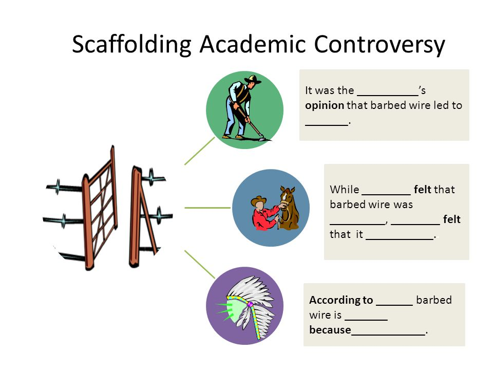 Scaffolding Academic Controversy