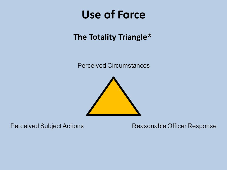 perception of use of force 3 keys to improve public's perception of force 263 how cops can help citizens better understand police use of force 264 ♦ethical use of force is an individual.