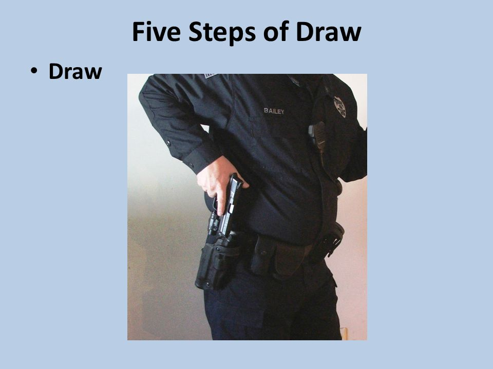 Five Steps of Draw Draw