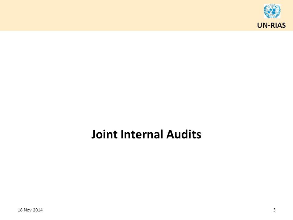 Joint Internal Audits 18 Nov 2014