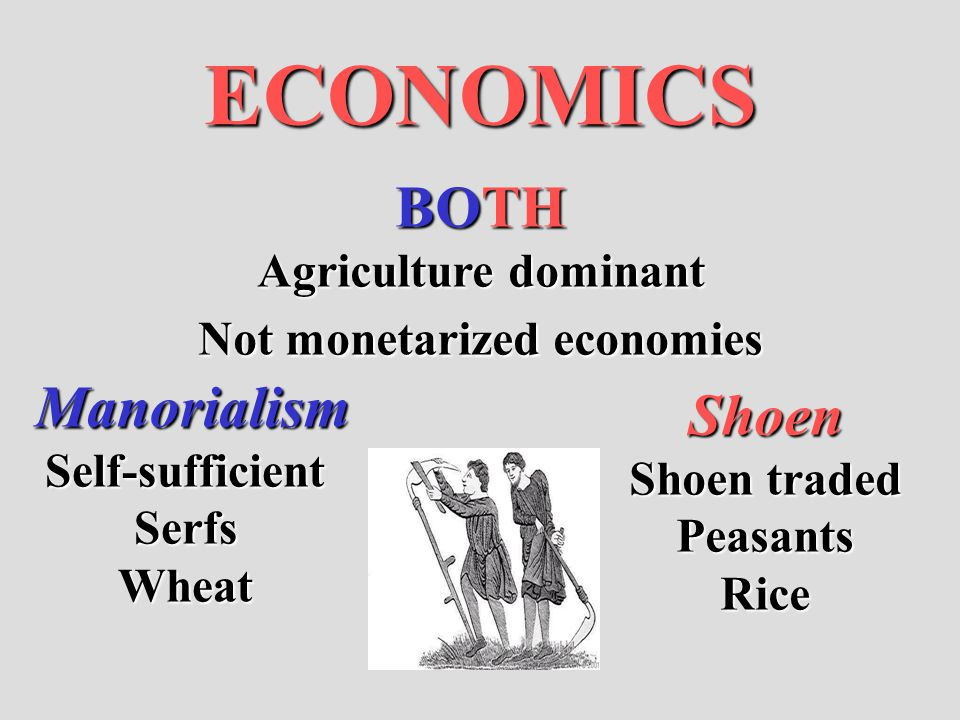 Not monetarized economies