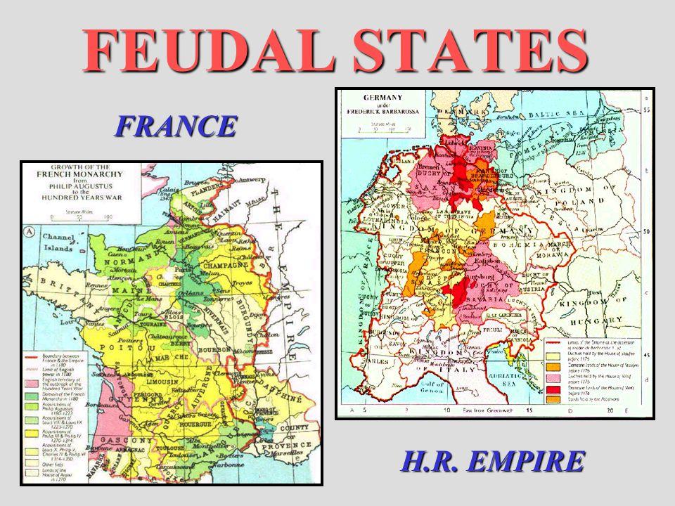 FEUDAL STATES FRANCE H.R. EMPIRE
