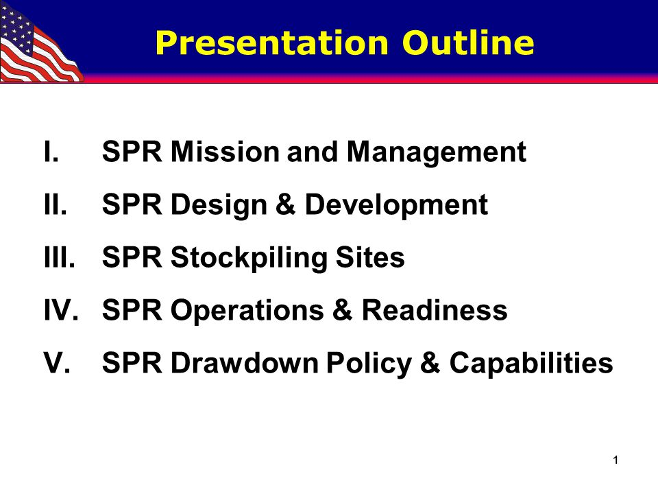 Strategic Petroleum Reserve