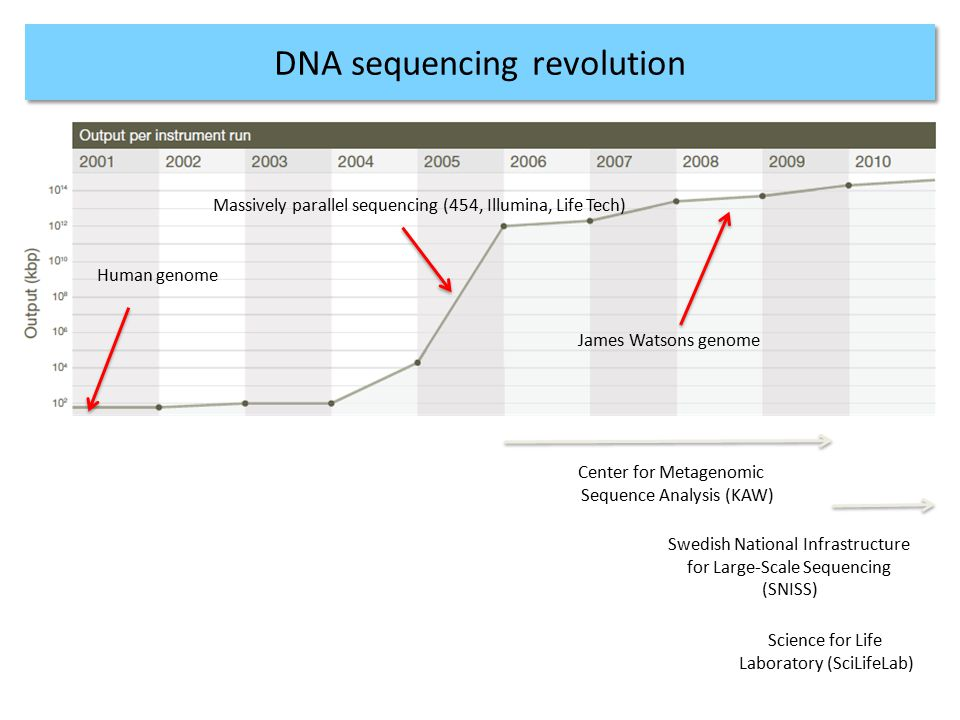 DNA sequencing revolution