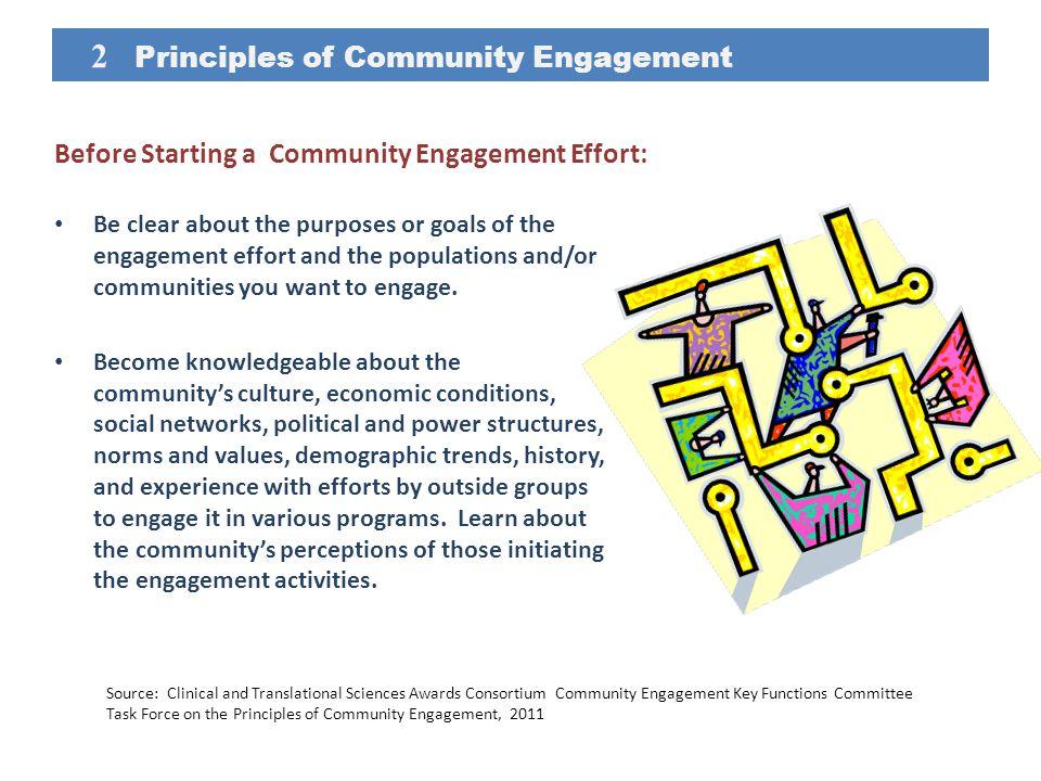 2 Principles of Community Engagement