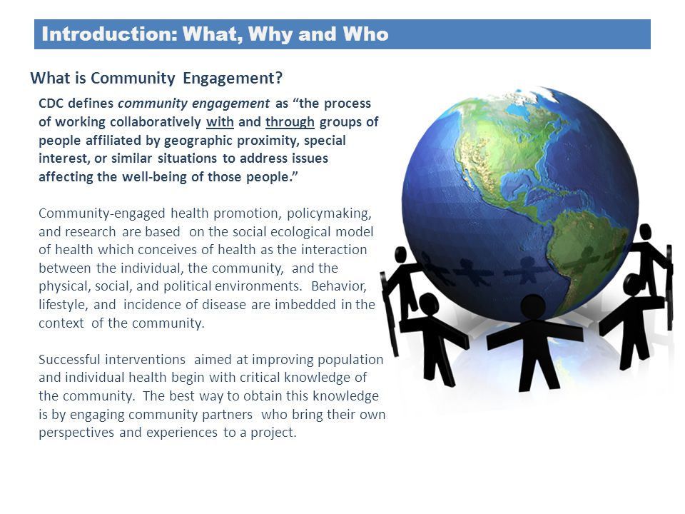 Introduction: What, Why and Who