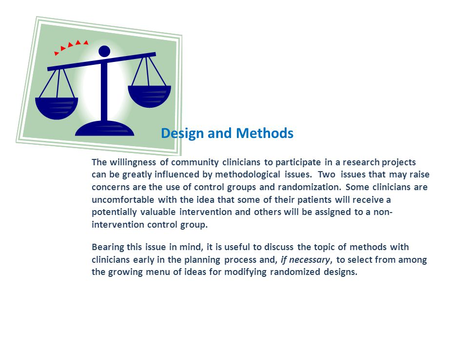 Design and Methods
