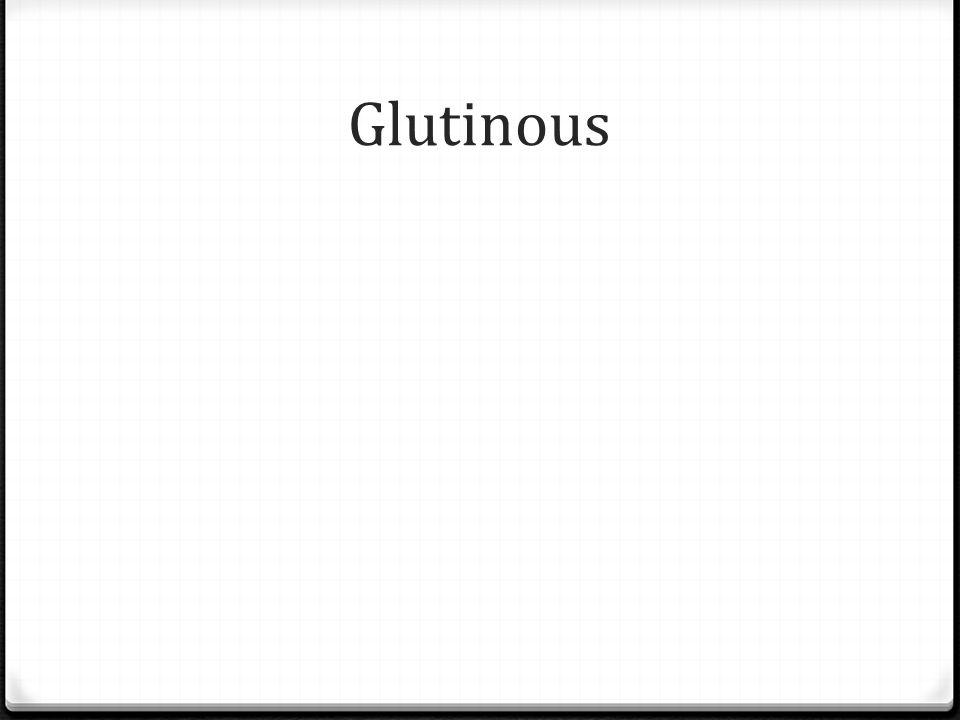 Glutinous