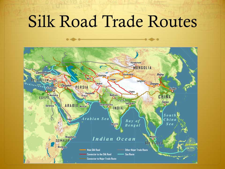 Silk Road Trade Routes