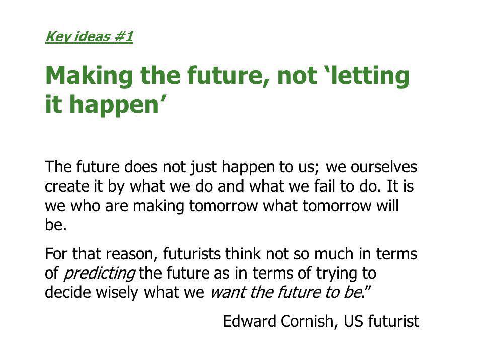 Edward Cornish, US futurist