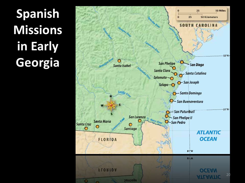 Spanish Missions in Early Georgia