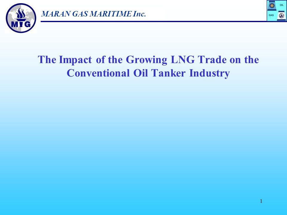 The Impact of the Growing LNG Trade on the Conventional Oil Tanker Industry