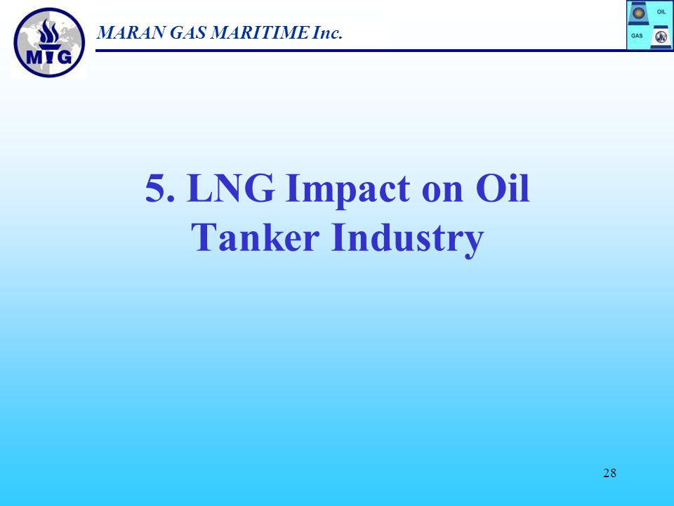 5. LNG Impact on Oil Tanker Industry