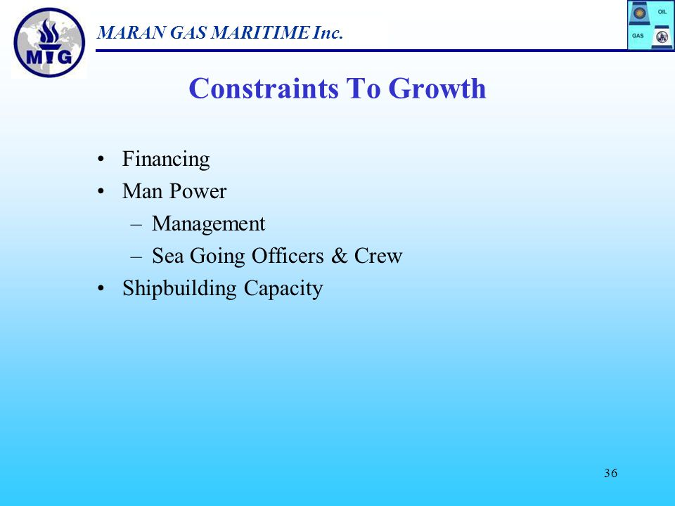 Constraints To Growth Financing Man Power Management