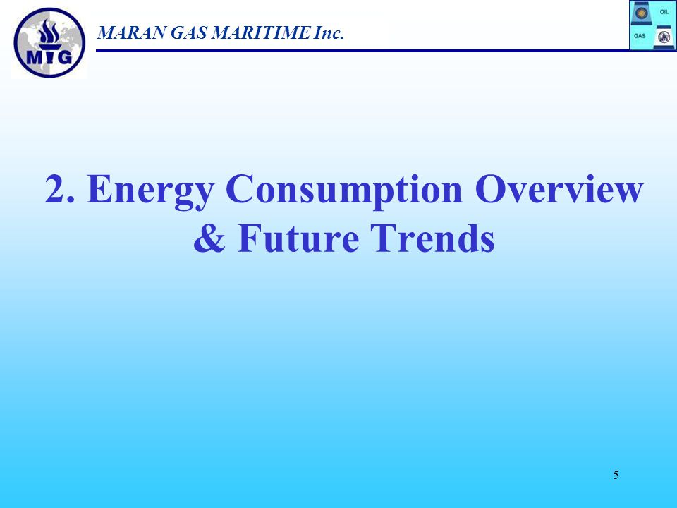 2. Energy Consumption Overview & Future Trends