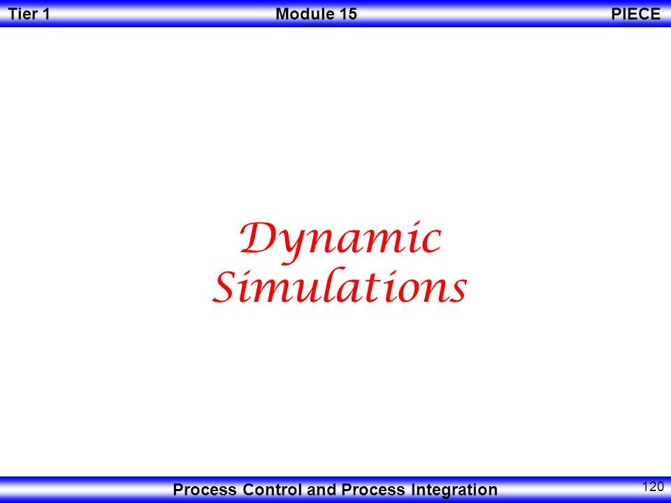 Dynamic Simulations