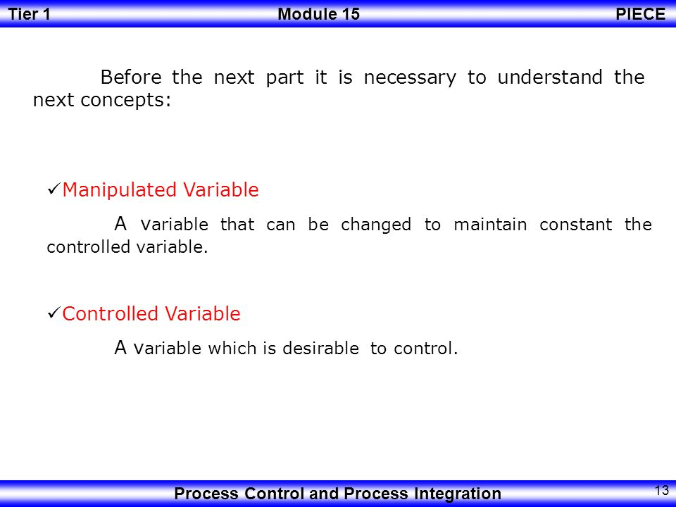 Before the next part it is necessary to understand the next concepts: