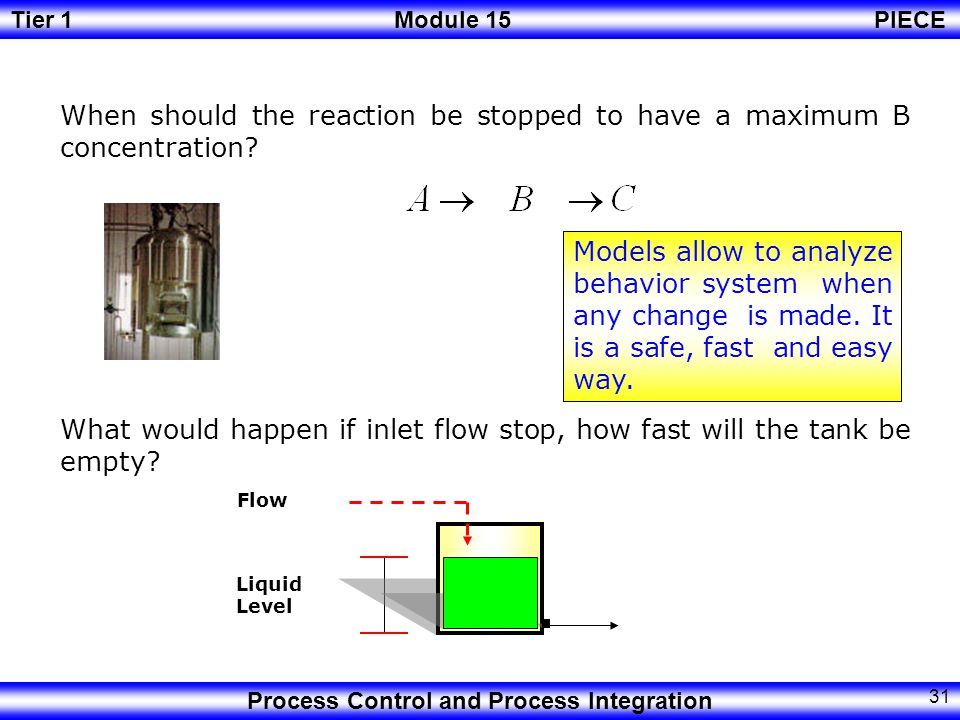 When should the reaction be stopped to have a maximum B concentration