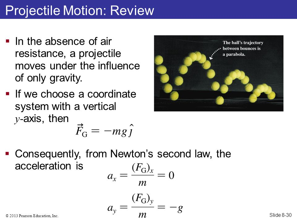Projectile Motion: Review
