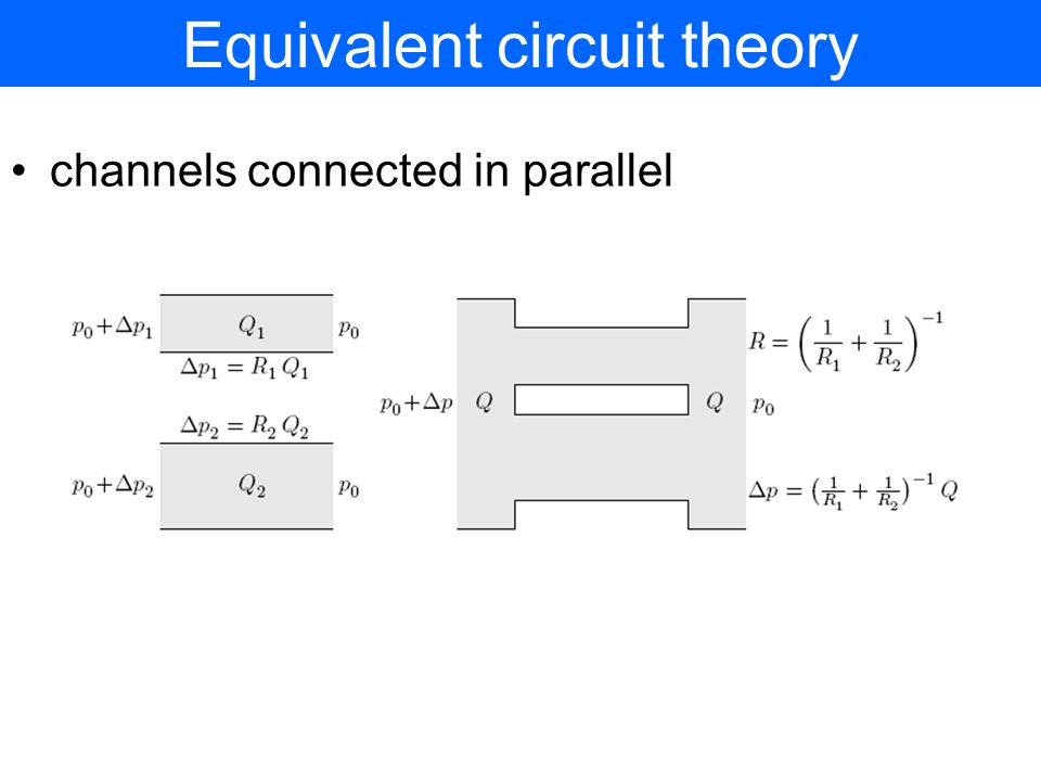 Equivalent circuit theory