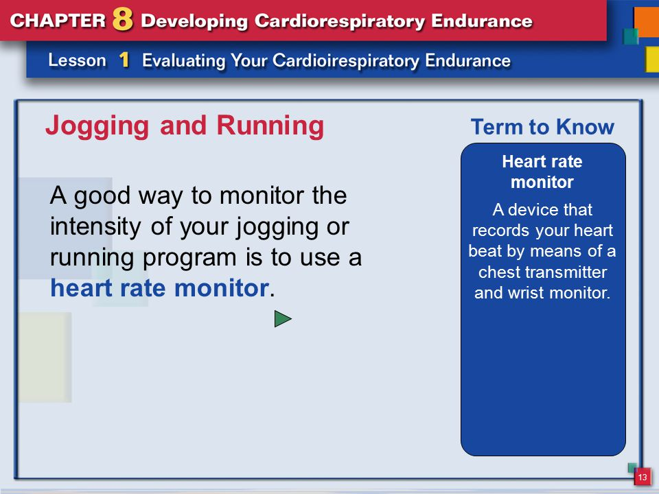 Jogging and Running Heart rate monitor. A device that records your heart beat by means of a chest transmitter and wrist monitor.