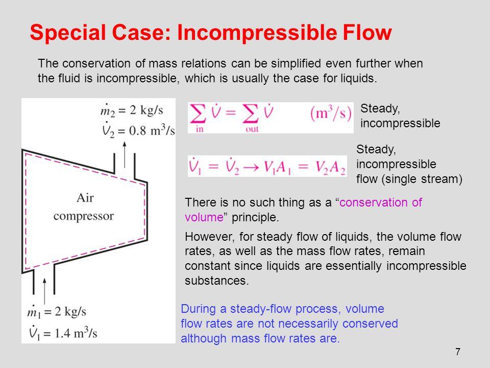 Special Case: Incompressible Flow