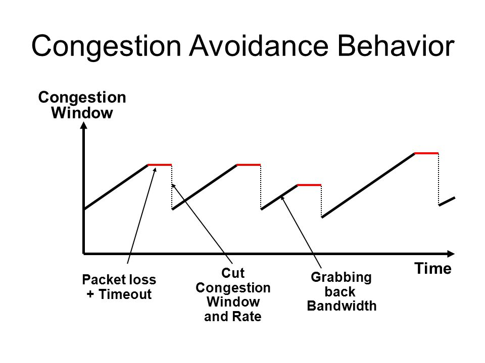 Congestion Avoidance Behavior