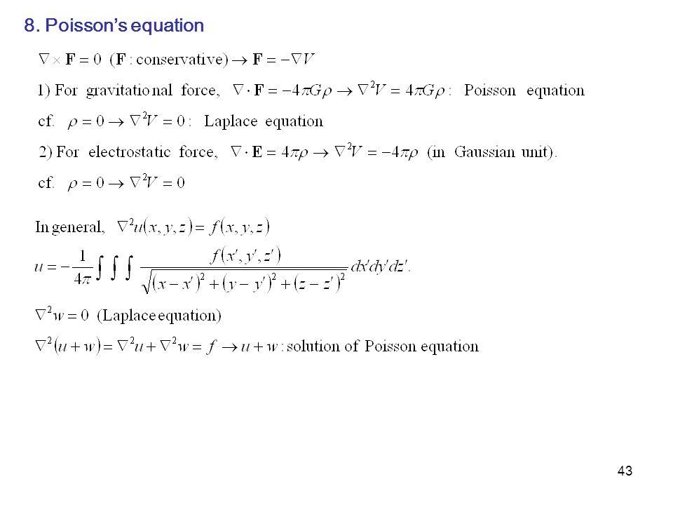 8. Poisson's equation