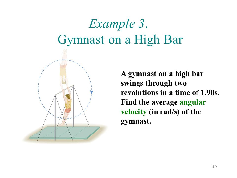 Example 3. Gymnast on a High Bar